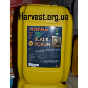 Staffer black boron стимулятор и антистрессант с бором 10 литров