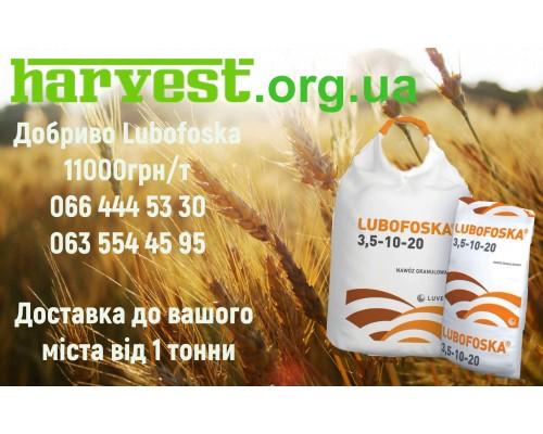 Удобрения LUBOFOSKA 4-12-12 NPK (Ca, S) (добриво Любофоска) Польша, Лювена, для зерновых, рапса, картофеля, зернобобовых
