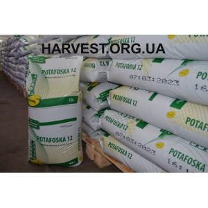 Минеральное удобрение Потафоска (Potafoska) 12 NPK (Ca, S)